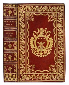 Superb copy of this 1780 Royal Almanac