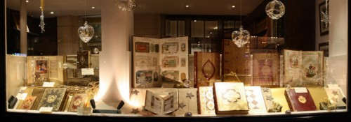 Our Christmas window this week