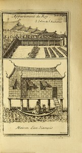 First edition of the best work about Thailand published in the 17th century
