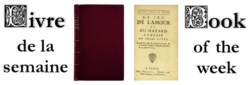 First edition of Marivaux's most accomplished comedy