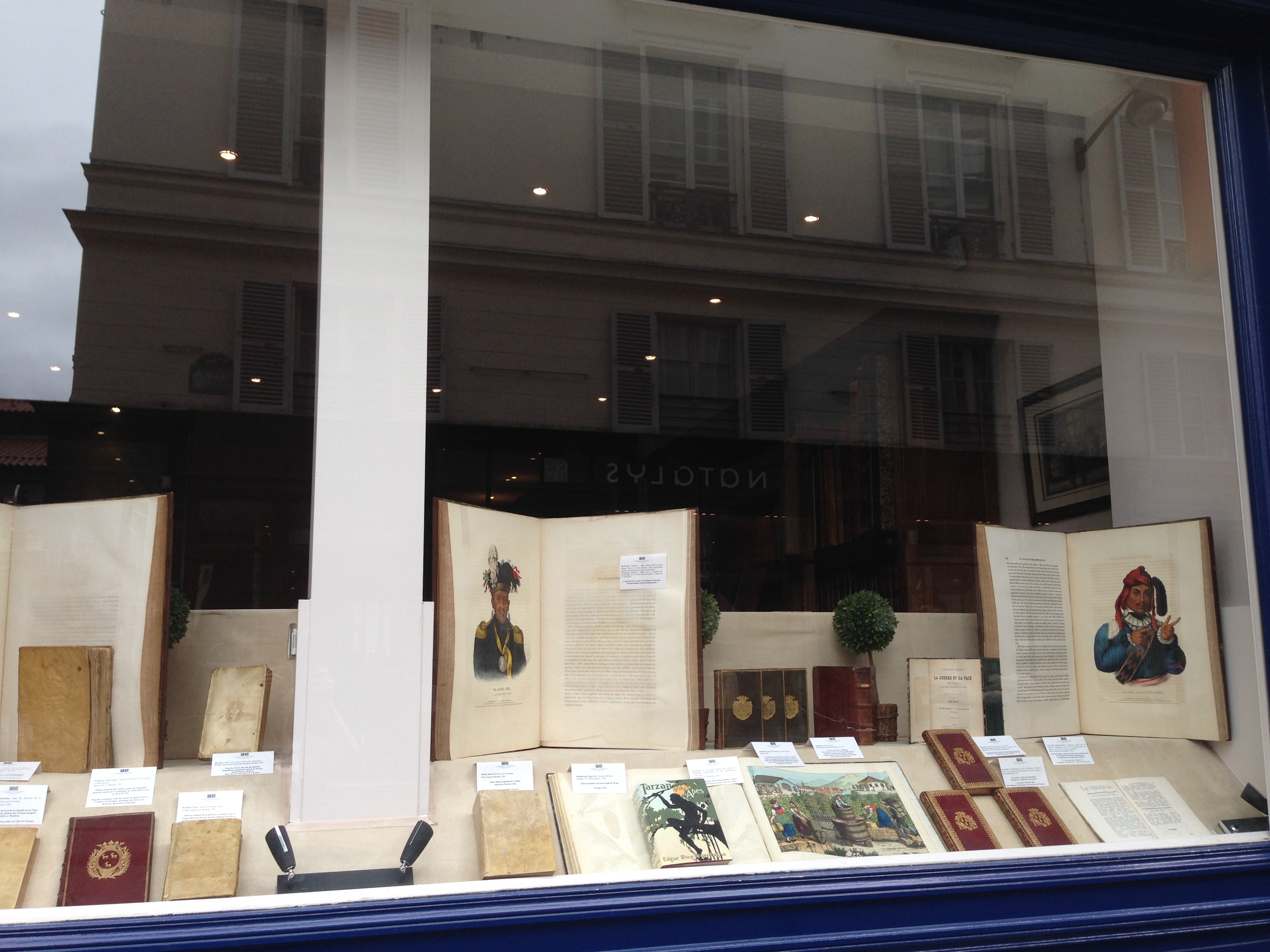 Our window of precious books this week