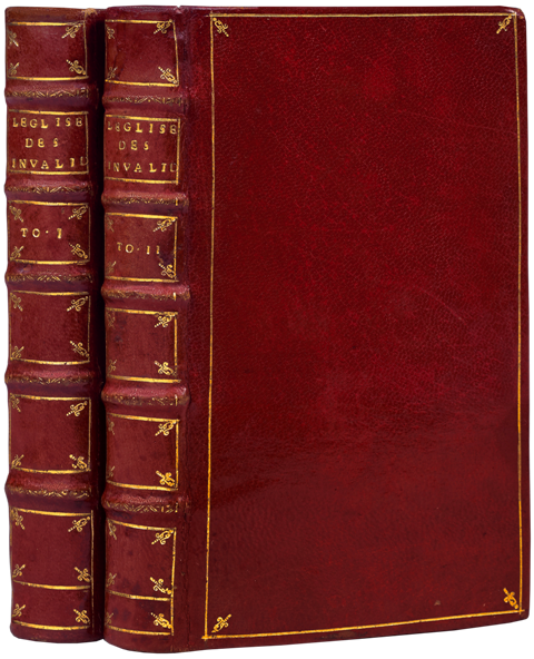 "First 12mo edition of the ""Description des Invalides""."