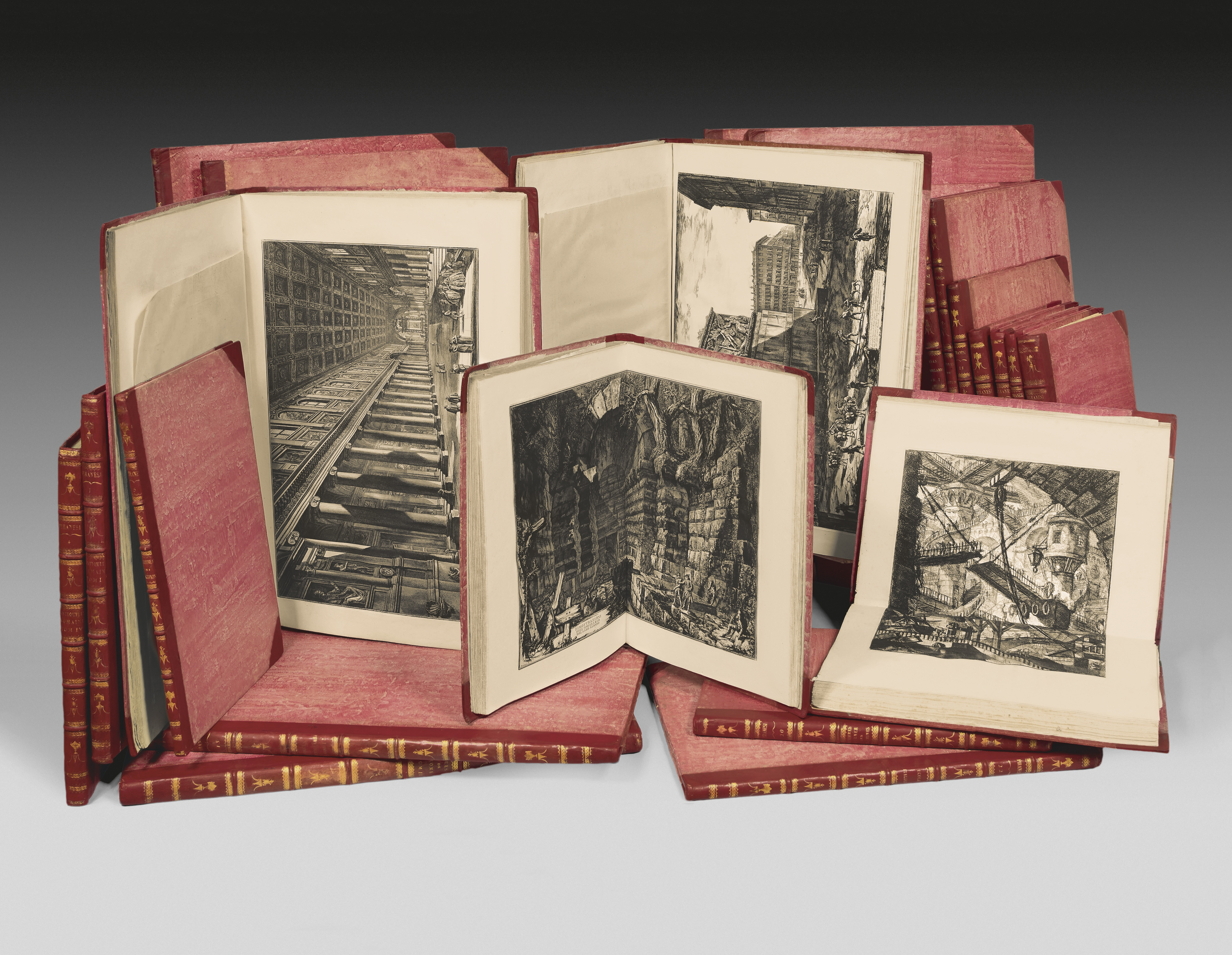PIRANESI-Giovanni-Battista-Francesco-Works-rare-books-first-edition-precious-books