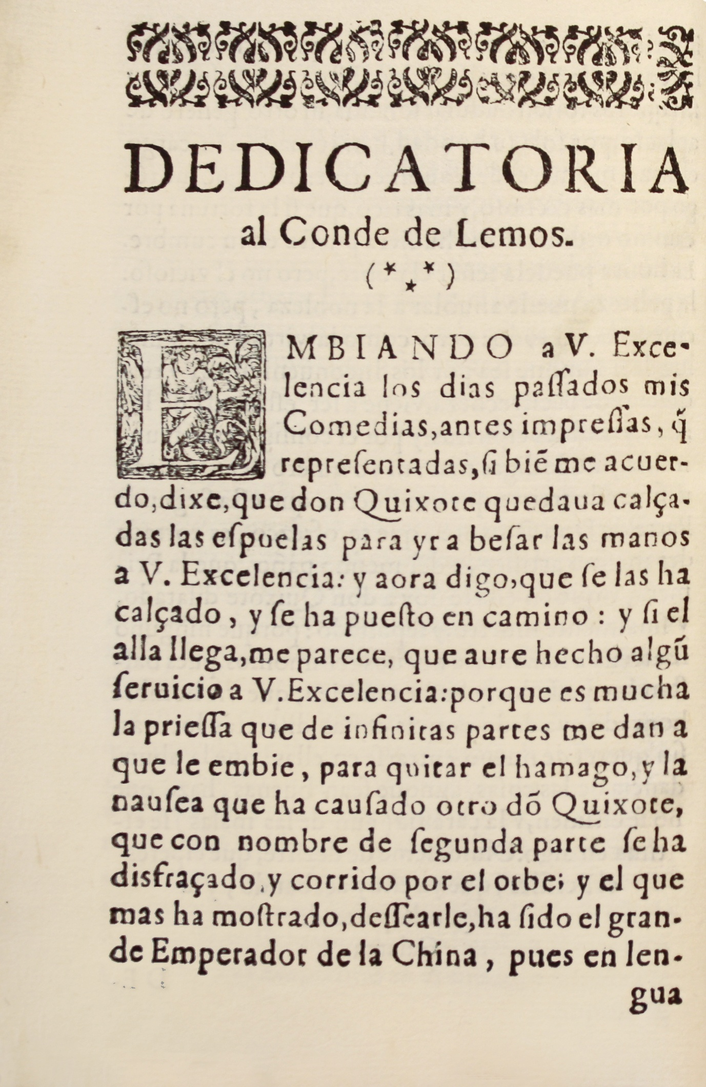 CERVANTES-Don-Quichote-Segunda-parte-Rare-and-ancient-books-First-edition-