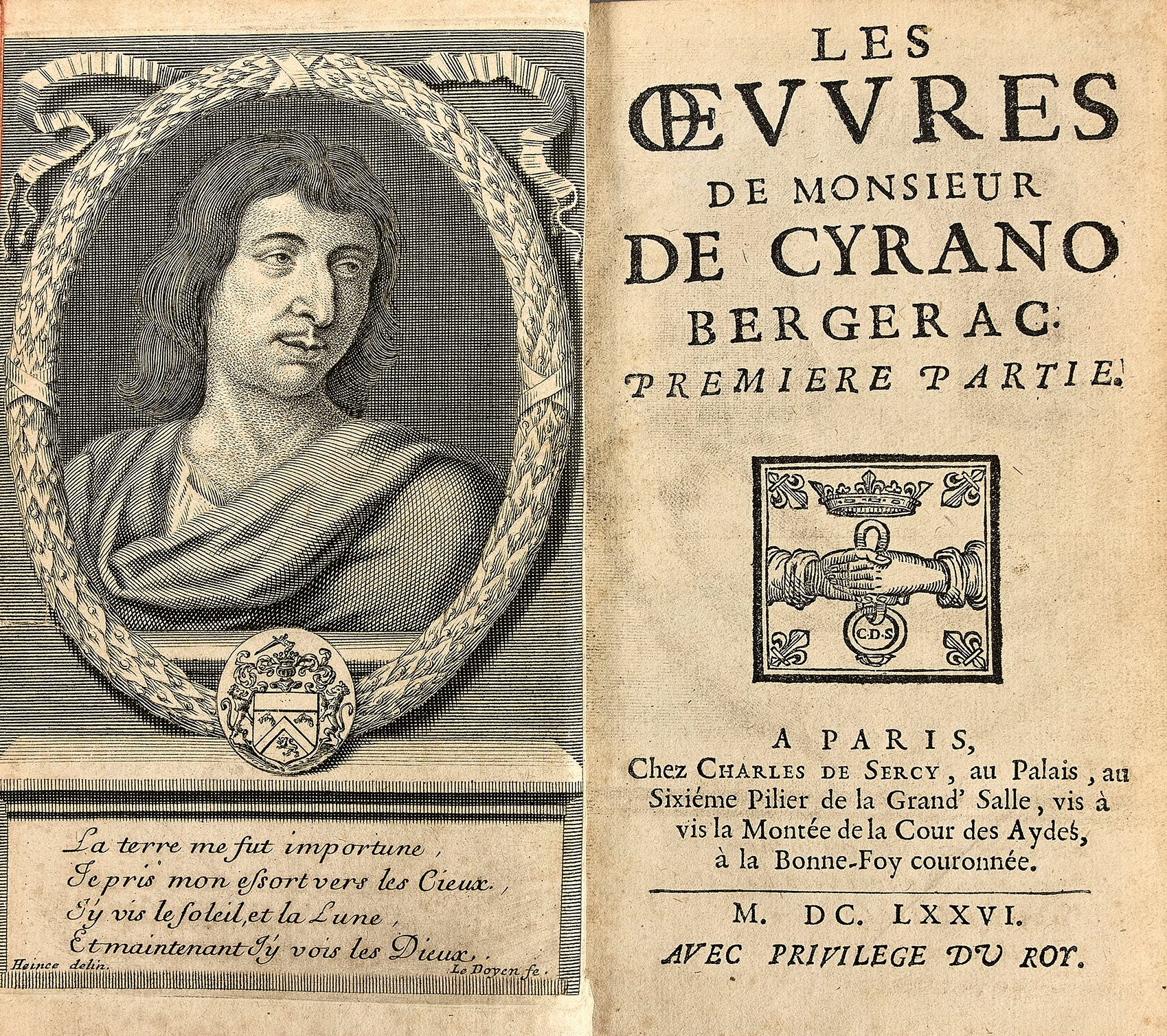 rare-books-first-edition-precious-books-CYRANO-DE-BERGERAC-Les-oeuvres-de-monsieur-Cyrano-de-Bergerac-1676-Paris-rare-books-first-edition-precious-books