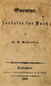 ANDERSEN-Hans-Christian-Eventyr-fortalte-for-born-Rare-recueil-reunissant-l-edition-originale-