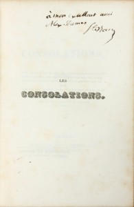 rare-books-first-edition-precious-books-SAINTE-BEUVE-Charles-Augustin-Les-Consolations-poesies--First-edition-of-the-Consolations-
