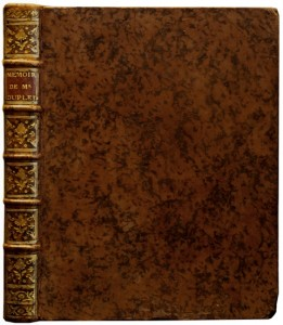 GENNES-Pierre-de-Memoire-pour-le-sieur-Dupleix--First-edition-of-the-interesting-