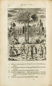 rare-books-first-edition-precious-books-DEL-BENE-Bartholommeo-Civitas-Veri-sive-morum-The-utopian-city-illustrated-with-