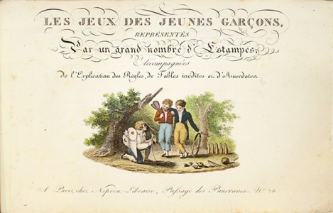 rare-books-first-edition-precious-books-LEPRINCE-Xavier-Les-Jeux-des-Jeunes-Garcons--Children-s-games-painted-under-the-