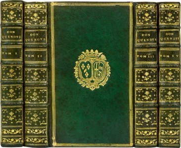 CERVANTES-Vida-y-Hechos-del-Ingenioso--Don-Quichotte-bound-for-the-rare-books-first-edition-precious-books