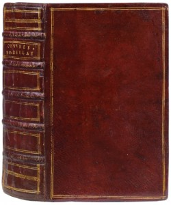 DU BELLAY Joachim Les OEuvres francaises de Joachim  First edition with a consecutive
