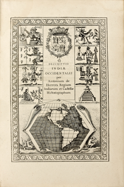 HERRERA-Antonio-de-Novus-Orbis-Sive-Descriptio-Indiae--The-first-complete-account-of-