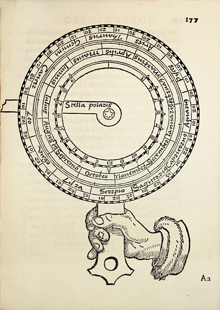 MUNSTER Sebastian Compositio horologiorum in plano muro En partie illustree par Hans