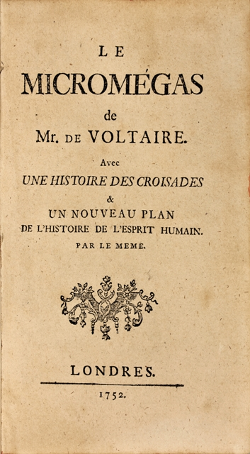 VOLTAIRE-Le-Micromegas-de-Mr-De--La-rare-seconde-edition-de-
