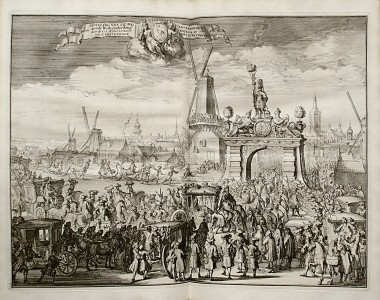 BIDLOO-Govert-Relation-du-voyage-de-sa-The-triumphal-entry-of-