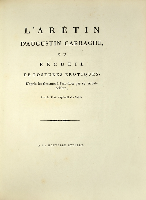 CARRACHE-Augustin-L-Aretin-d-Augustin-Carrache-ou-recueil--First-and-famous-edition-of-