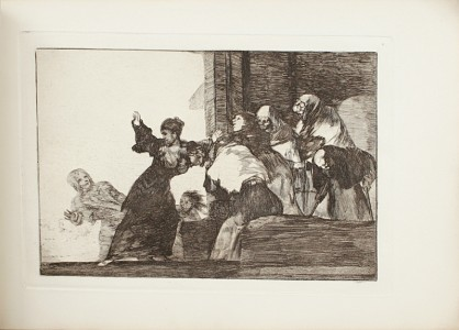 GOYA-Y-LUCIENTES-Francisco-Los-Proverbios-Colleccion-de-diez--Los-Proverbios-de-Goya-