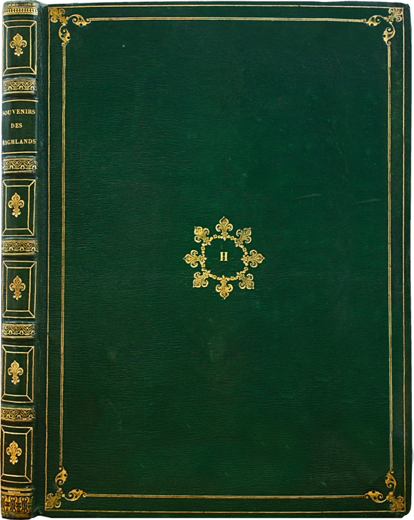 HARDIVILLER-Souvenirs-des-Highlands-Voyage--First-edition-of-the-journey-